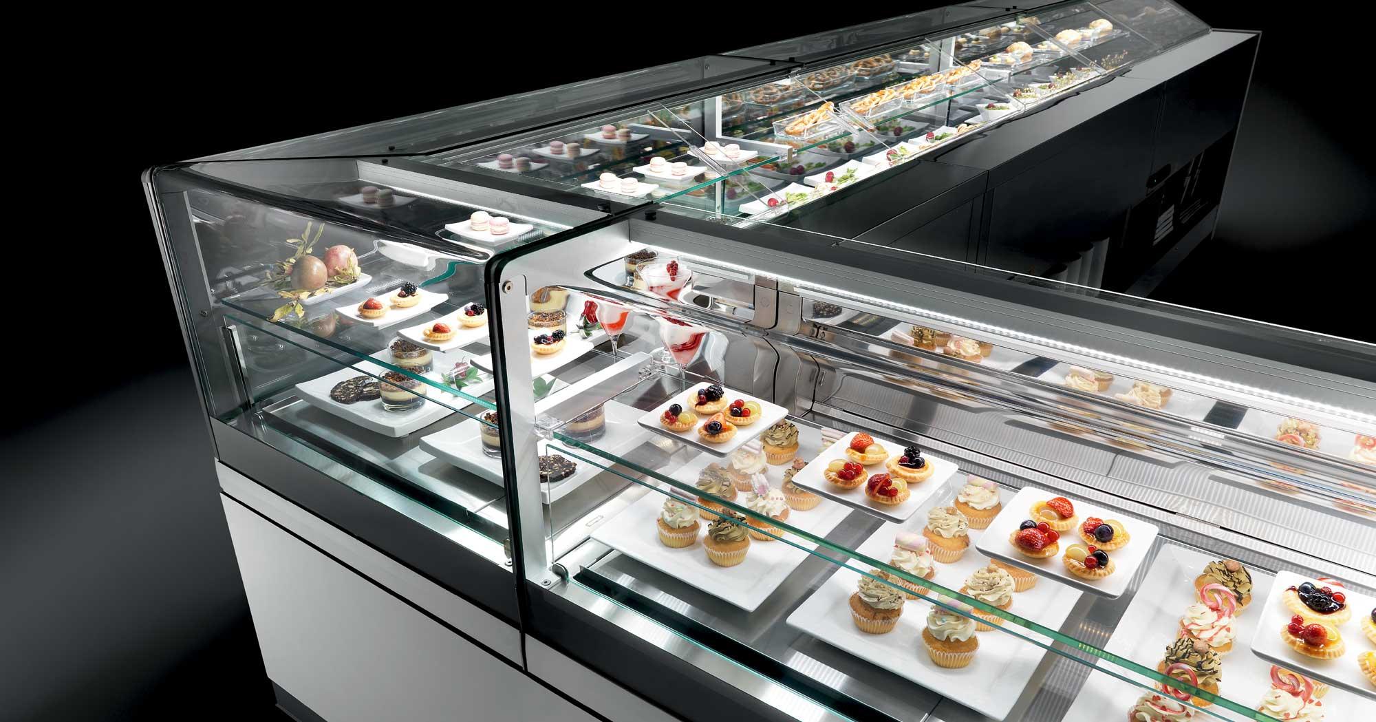 Banchi vendita refrigerati pasticceria