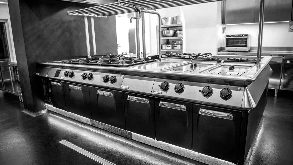 Cucina professionale modulare personalizzata