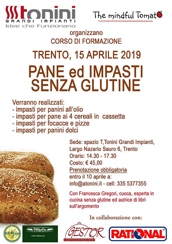 Corso formazione pane e impasti senza glutine