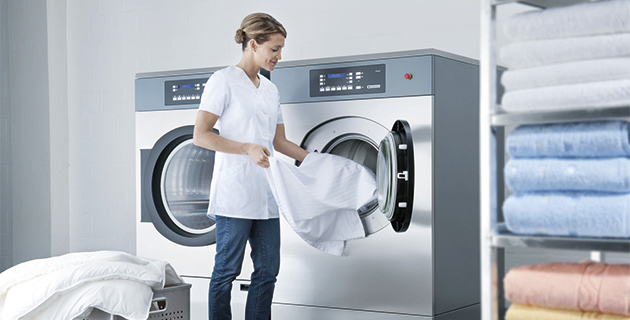 Lavacentrifuga ed essiccatoio professionali lavanderia