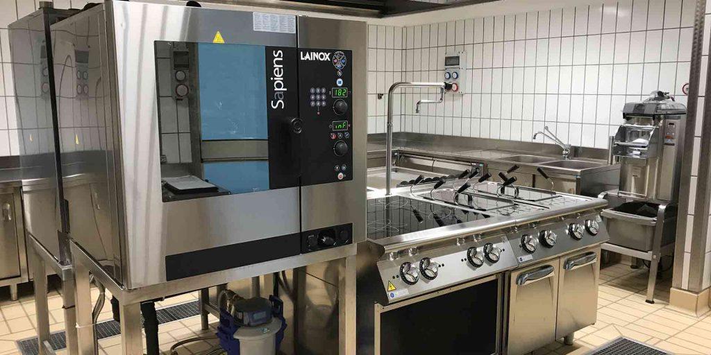 Cucina elettrica con impianto ottimizzazione Powerguardian